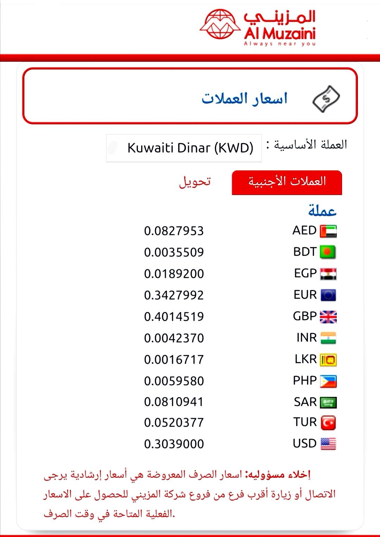 سعر الالف المصري اليوم المزيني للصيرفه