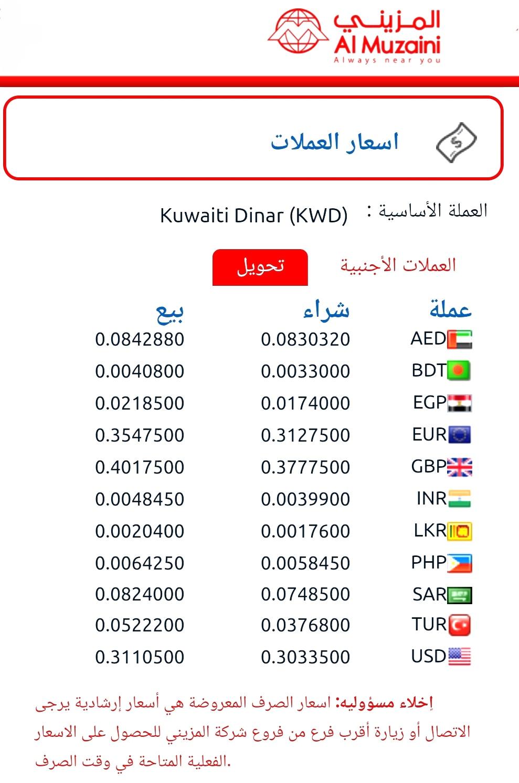 سعر الف المصري سعر العملات المزينى تحويل الي مصر اونلاين ٥ يونيو ٢٠٢٠